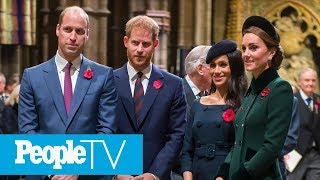 Why Meghan Markle And Prince Harry May Split From Kate Middleton And Prince William | PeopleTV