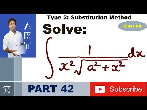 Integration Type 2 : Substitution Method : Part 42