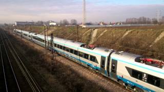 preview picture of video 'Pendolino Kraków 14.12.2014'