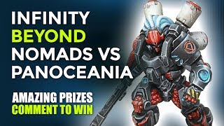 Infinity Beyond Ice Storm: Nomads Vs PanOceania