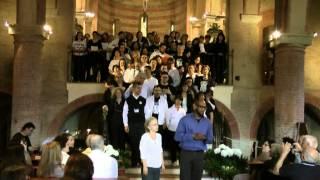 preview picture of video 'BLACK a BOLOGNA Concerto gospel finale a Monteveglio 27.5.2012'