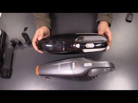 Bosch BHN2140L Akku Handstaubsauger vs. AEG Rapido