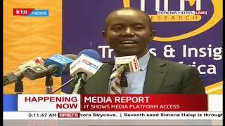 CS Joe Mucheru's speech during release of Media Landscape report