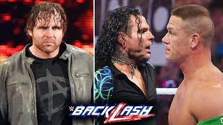 10 Surprises Rumored for WWE Backlash 2018