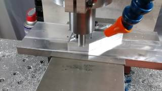 Milling on the 80/20 CNC Mill