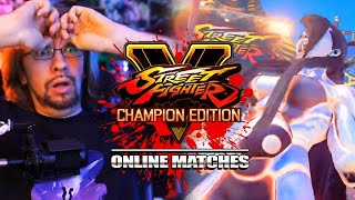 Seth Can Do SO MUCH: Seth - Street Fighter 5 Online Matches