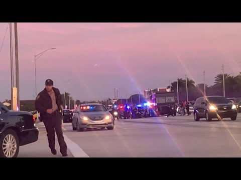 Chilling ground video shows deadly shootout in Miramar