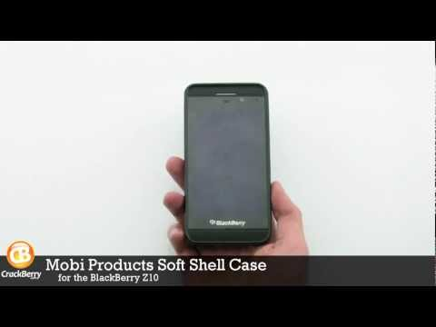 Mobi Products Soft Shell Case for BlackBerry Z10