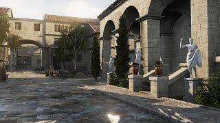 Speed Level Design - Rome Market - Unreal Engine 4