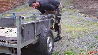 Trailer Restoration - Repair and Restoration of my old Trailer