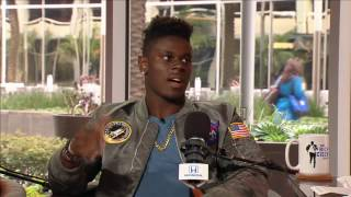 University of Miami TE David Njoku on His Jacket & Brad Kaya - 3/22/17