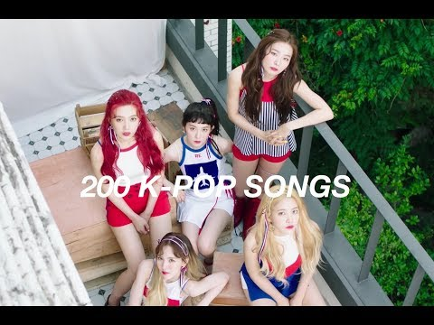 My Top 200 Favourite K-Pop Songs