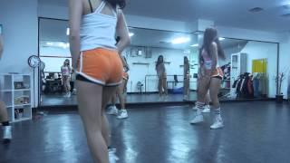 치어리더(cheerleader) 안무 연습 영상(Choreography Practice Video) EXID(이엑스아이디)] '위아래' (UP&DOWN)