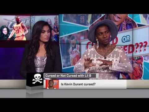 LIL B ON ESPN SPORTS NATION LIVE TV! RARE !