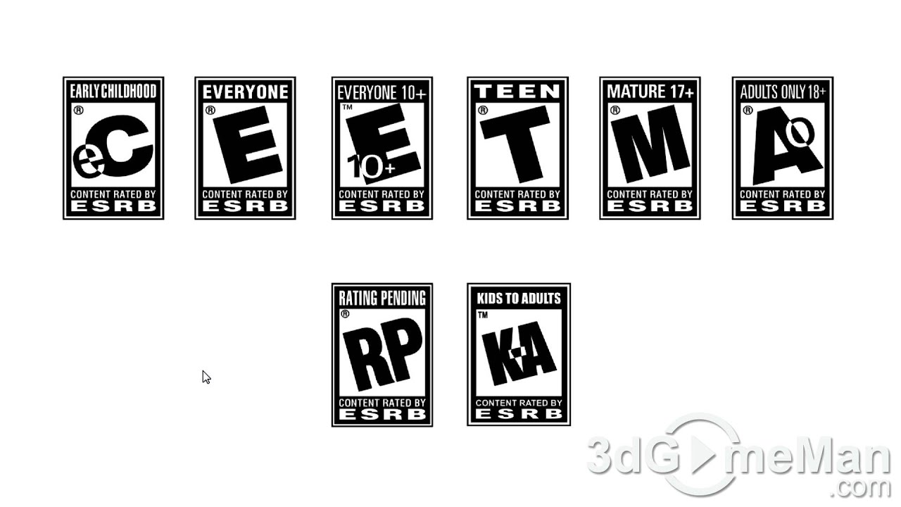 ESRB Age Ratings