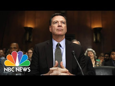 Former FBI Director James Comey Testifies Before Senate (Full) | NBC News