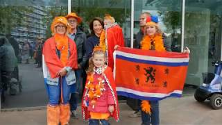 Koningsdag 2018 in Nissewaard - Aubade voor het stadhuis