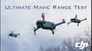 DJI Mavic Air 2 vs Mavic Mini vs Mavic 2 vs Mavic Air - Range Test