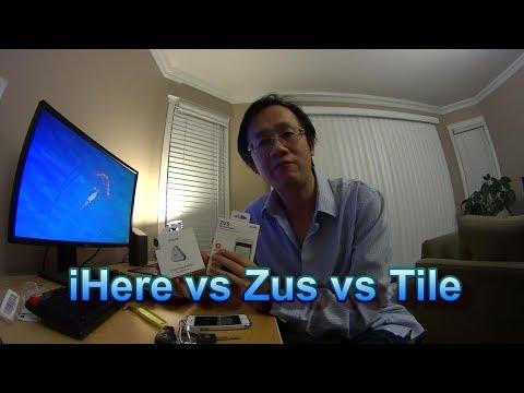 iHere vs Zus vs Tile -  Bluetooth Trackers Craziness.
