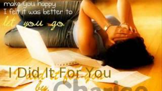 I Did It For You - Charice