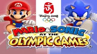 Mario & Sonic at the Olympic Games Nintendo DS Gameplay HD (DeSmuME)