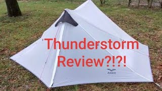 Lanshan 2 (Mier 2) Ultralight Tent T-storm Review