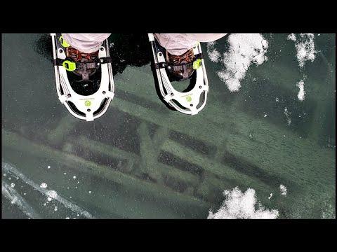 Bådvrag under isen