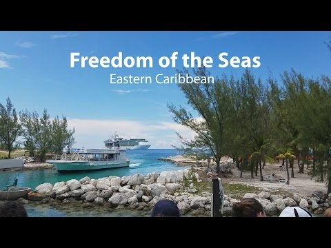 Royal Caribbean Freedom of the Seas Eastern Caribbean Cruise Review.
