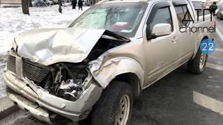 Подборка ДТП  аварий за 28. 02. 2018 г.  Регистратор, аварии зимой