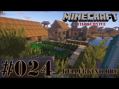 Minecraft: I will survive #024 - Eine wüste Reise ★ Let's Play Minecraft [HD|60FPS]