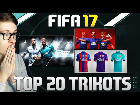 FIFA 17 - OMG DIE BESTEN TRIKOTS! THE BEST KITS! - ULTIMATE TEAM (DEUTSCH)