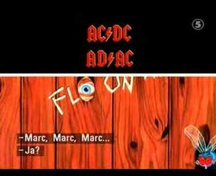 Człowiek, który nie potrafi wymówić AC/DC