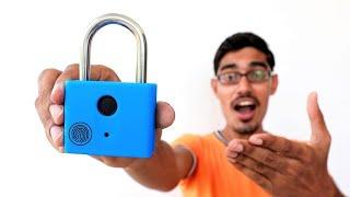 Smart Finger Print Door Lock Unboxing🔥 | ये स्मार्ट लॉक फिंगरप्रिंट से खुलता है |