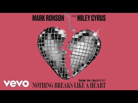 Mark Ronson - Nothing Breaks Like a Heart (Don Diablo Remix) [Audio] ft. Miley Cyrus