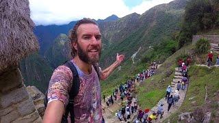 Walking From My $10 Hotel Room to Machu Picchu, Peru