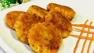Самые вкусные морковно рисовые котлеты. Изумительный рецепт котлет. Рецепты вторых блюд.