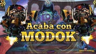 Acaba de una vez con MODOK - Marvel Batalla de Superheroes