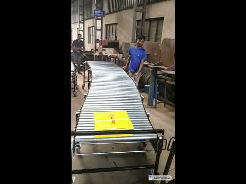 Flexible Expandable Gravity Roller Conveyor