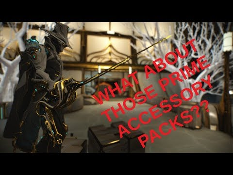 Warframe - Limbo Prime Accessories Pack: Taking a closer look & are they  good value for money - Luktorce