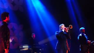 Chris Botti intro by Caroline Campbell perf Time To Say Goodbye at Java Jazz Festival 2015 Part1