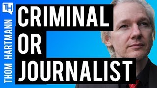 Did Julian Assange Step Past Journalism?
