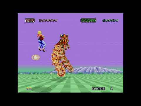 One Quarter One Play -- Space Harrier