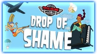TOTAL DRAMA WORLD TOUR GAMES | DROP OF SHAME | CARTOON NETWORK
