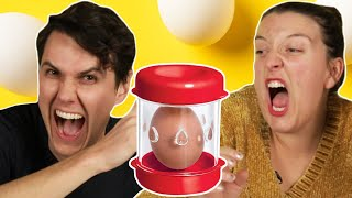 Egg Lovers Try Egg Gadgets thumbnail