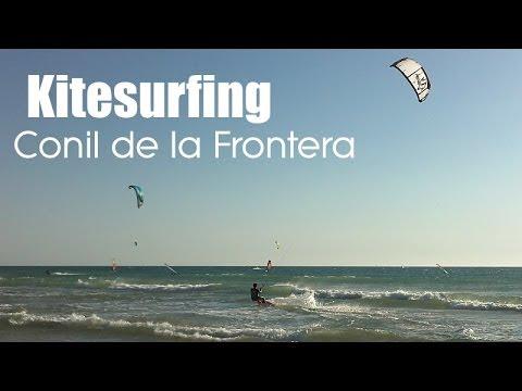 Kitesurfing in Conil de la Frontera