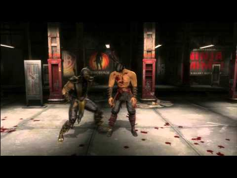 Mortal Kombat 9 All Stage Fatalities including PS3 exclusives