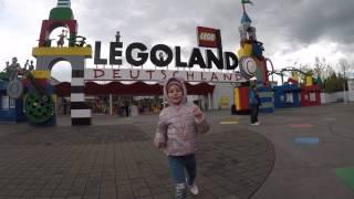 Лаура в LEGOLAND Deutschland ЛЕГОЛЕНД в Германии.