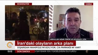 #İran'da ne oluyor? Terör Uzmanı Abdullah Ağar 24 TV'de anlattı