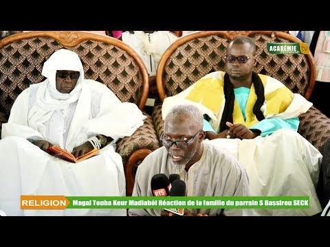 Réaction de la famille du parrain Elh Bassirou SECK Touba Saloum: Magal Touba Keur Madiabél 2019