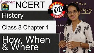 NCERT Class 8 History Chapter 1: How, When And Where | English | CBSE - Download this Video in MP3, M4A, WEBM, MP4, 3GP